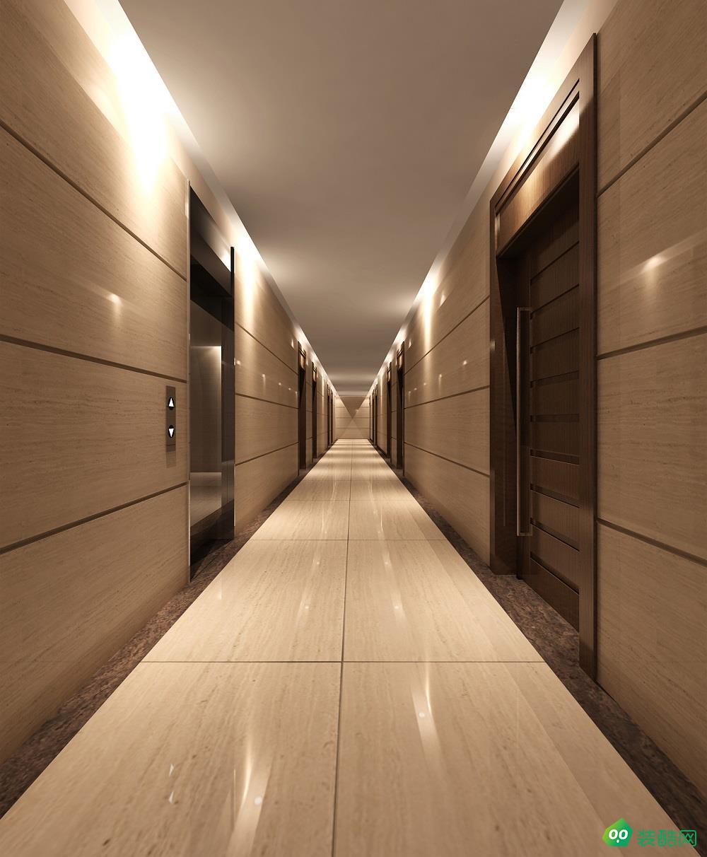 长春酒店装修1000平现代风格效果图