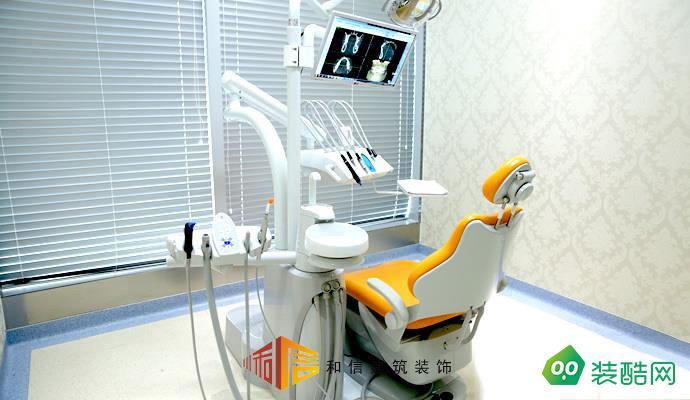 成都医院装修设计公司-迪诺齿科门诊部