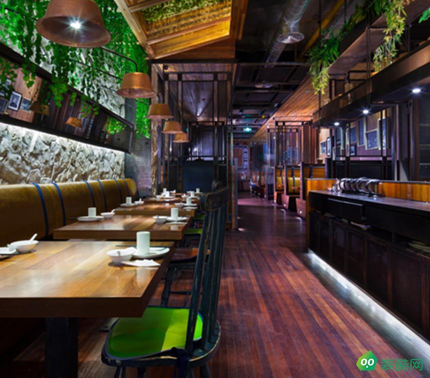 武汉380平米餐厅装修效果图