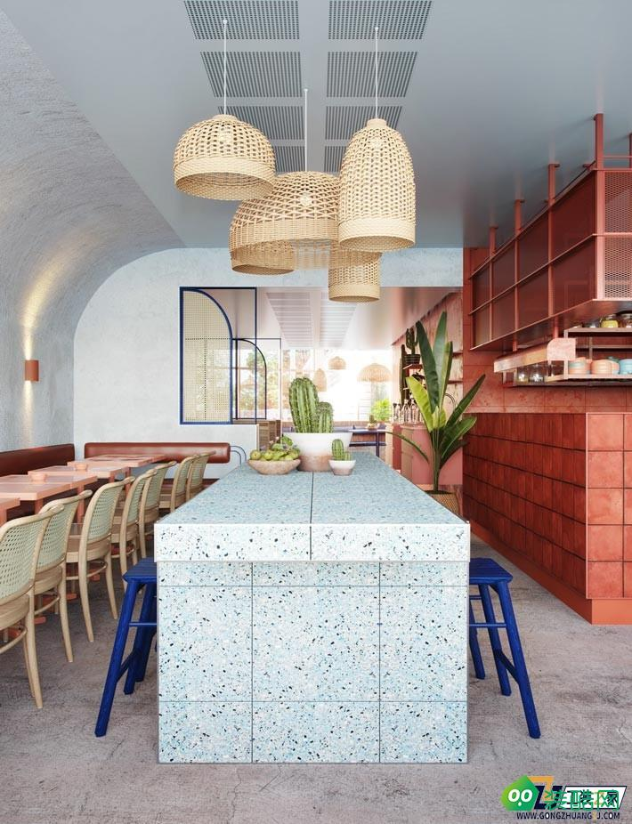 西安精致餐飲館裝修設計圖