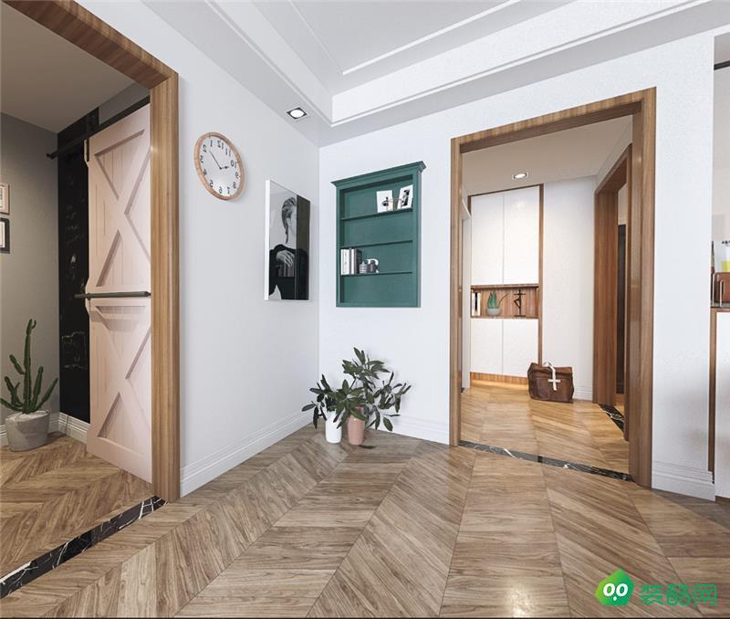 桂林100平米现代简约风格装修效果图