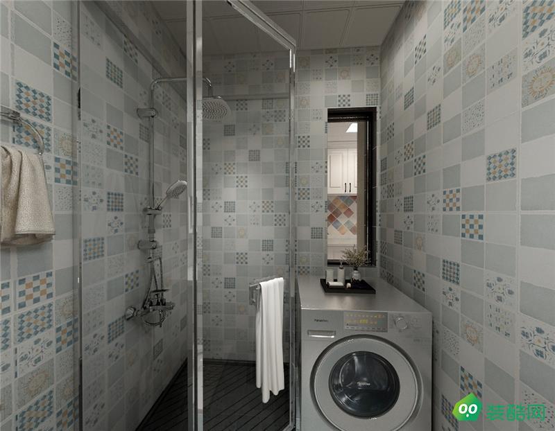 桂林96平米美式风格装修案例