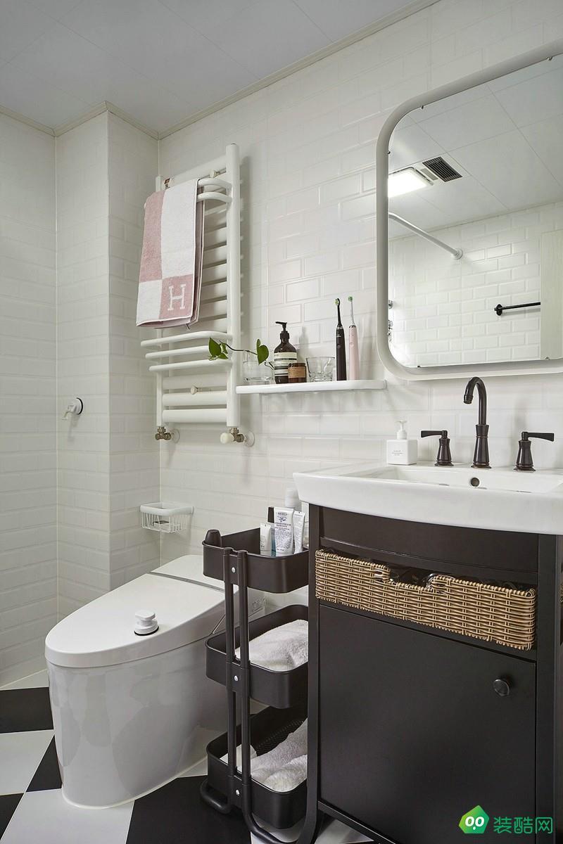 武汉110平米现代简约三室两厅一厨两卫装修效果图