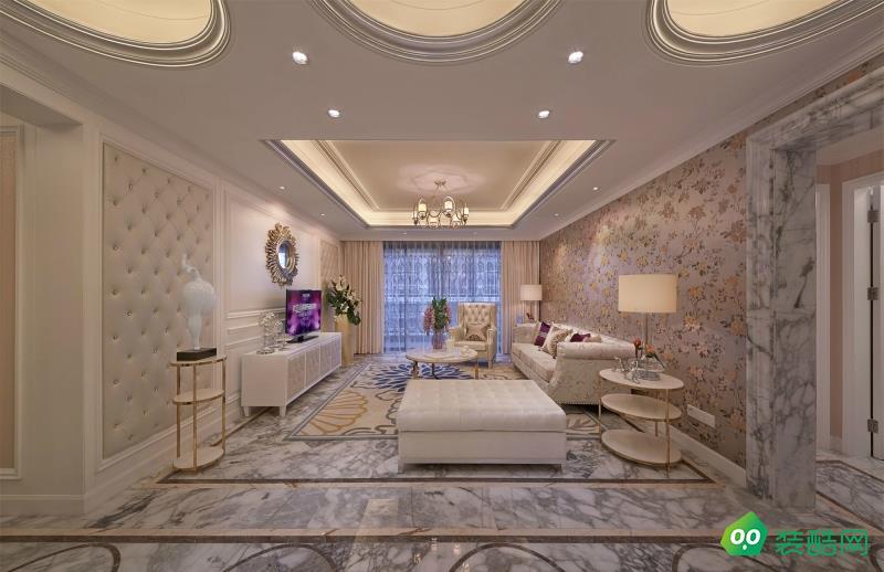 拉萨简欧风格四居室110平装修案例