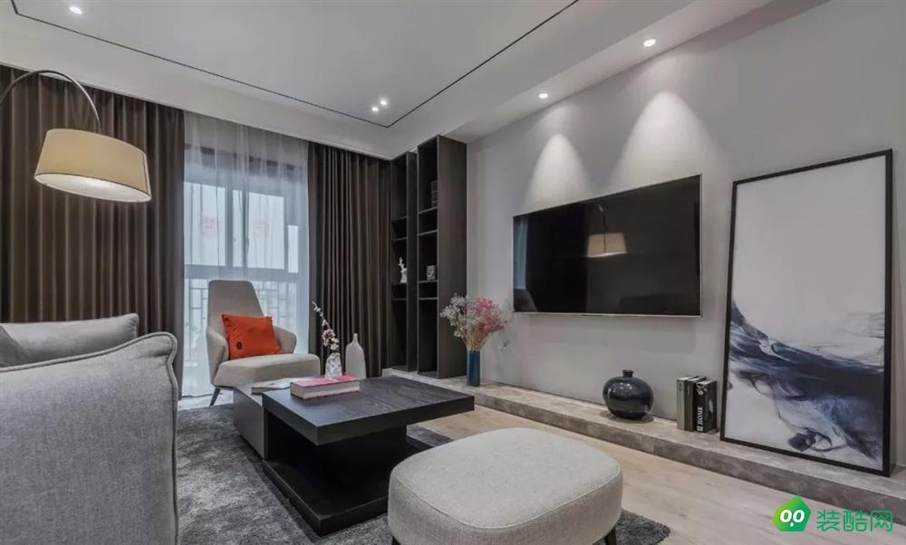 南充137平米美式风格三室两厅装修案例图片-好万家装饰