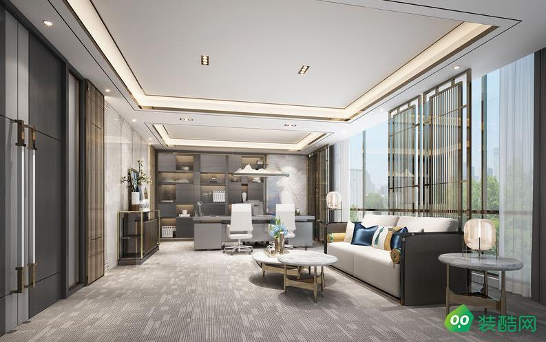 杭州待会所415平米现代新东方风格装修效果图