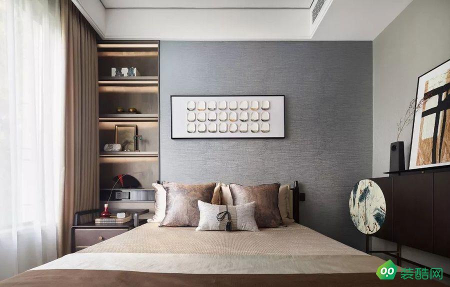 呼和浩特143平现代风格装修效果图-交换空间装饰