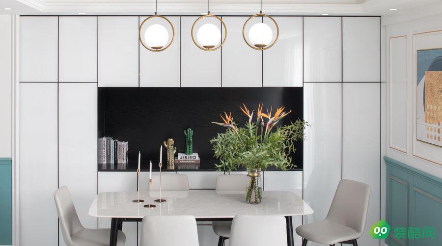 呼和浩特125平现代轻奢风格装修效果图-交换空间装饰