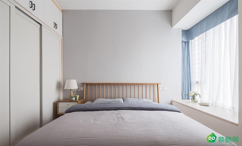 天津93平北欧风格装修效果图-美家焕新装饰