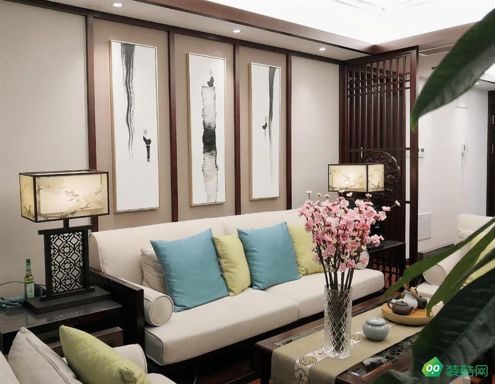 【新天家园】128㎡公寓 新中式