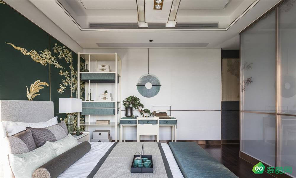 郑州300平米新中式风格别墅装修效果图