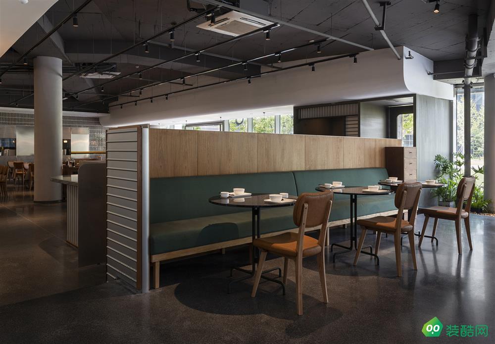 420平米茶餐厅现代风格装修效果图
