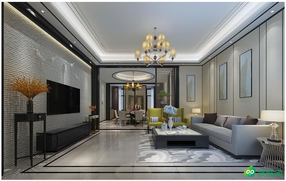 成都300平米现代简约风格别墅装修案例图片-无同之家装饰