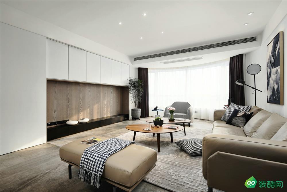 乌鲁木齐120平米现代风格三室两厅装修案例图-昊天品居装饰
