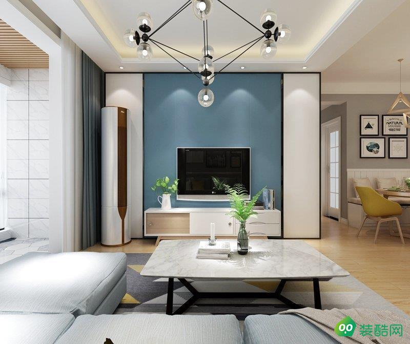 乌鲁木齐108平米北欧风格三室两厅装修案例图片-昊天品居装饰