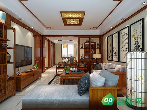 万科璞悦湾-中式风格设计案例