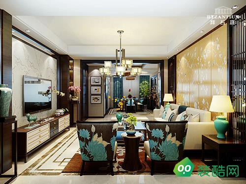 中南山海湾260平米中式风格设计案例
