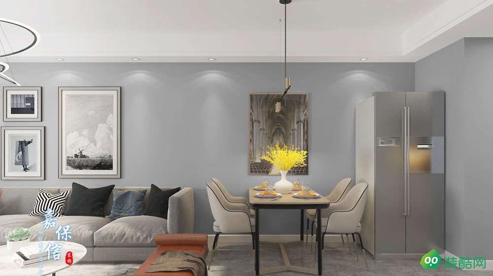 龙湖紫云台115平三室两厅现代简约风格设计案例