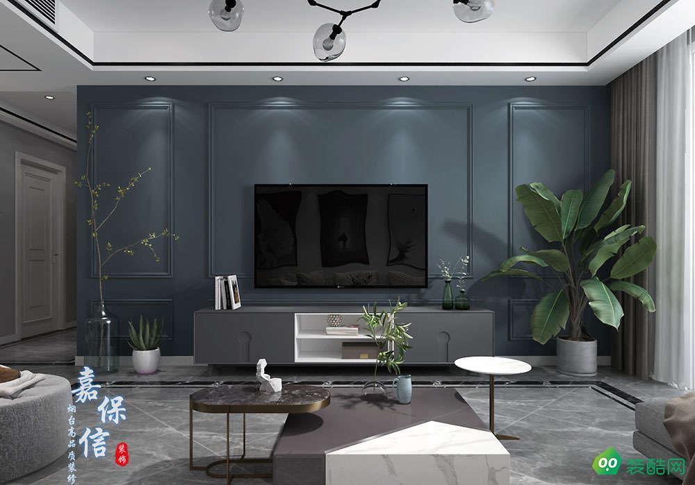泰颐新城114平三室两厅北欧风格设计案例