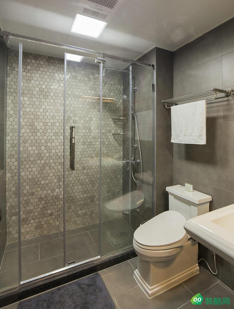 宜兴110平米现代风格三室装修效果图