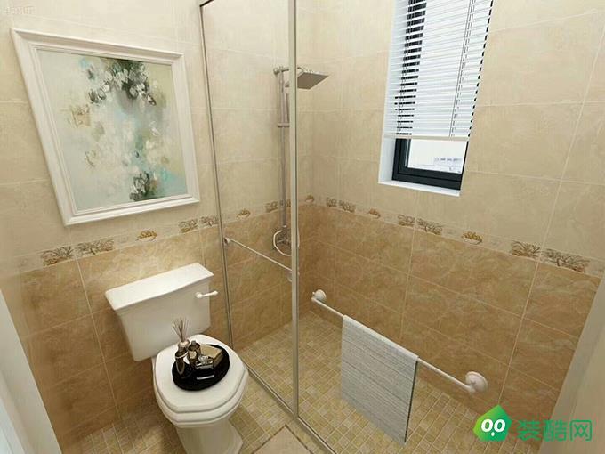 宜昌89平米簡約美式風格三室裝修效果圖