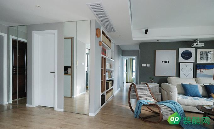 宜昌89平米現代風格兩室裝修效果圖
