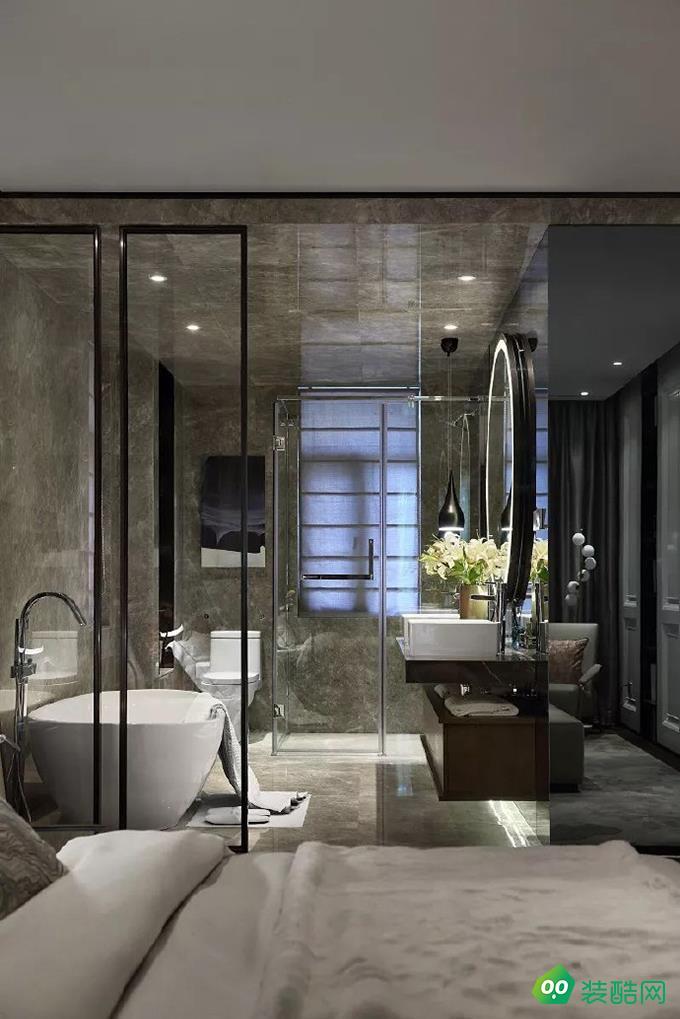 無錫89平米現代風格兩室裝修效果圖