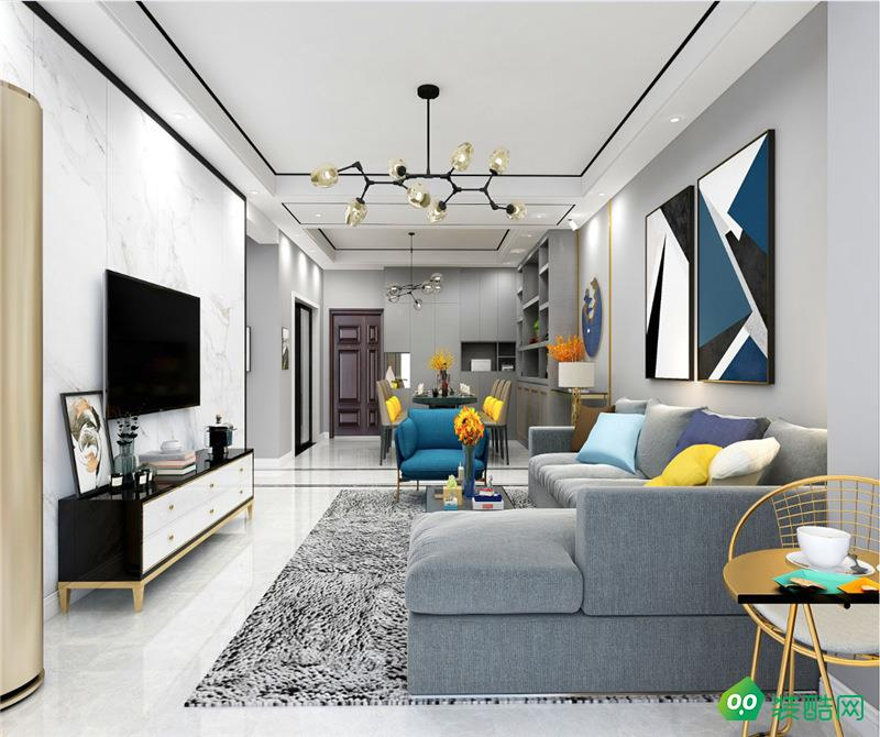瀘州143平米現代風格四室兩廳裝修案例圖-東易日盛裝飾