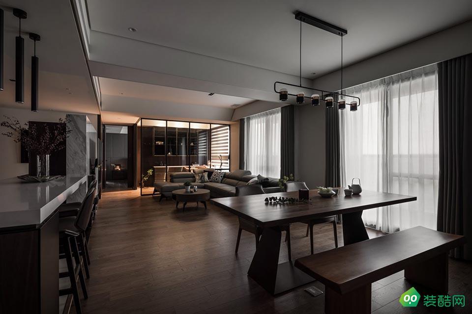 湘潭168平米現代港式風格四室兩廳裝修效果圖-星藝裝飾