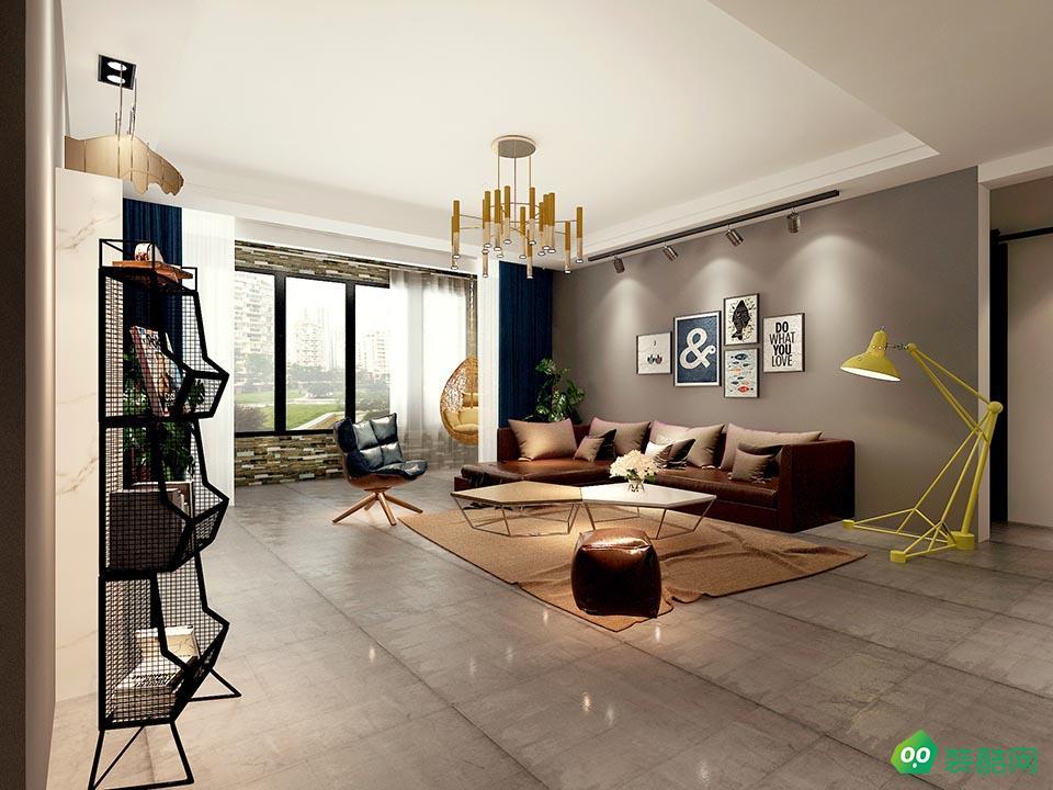 佛山180平米北歐混搭風格四室兩廳裝修效果圖-三星裝飾