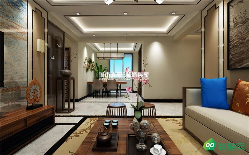 【瑞嘉容園】新中式家居裝修,你喜歡嗎?