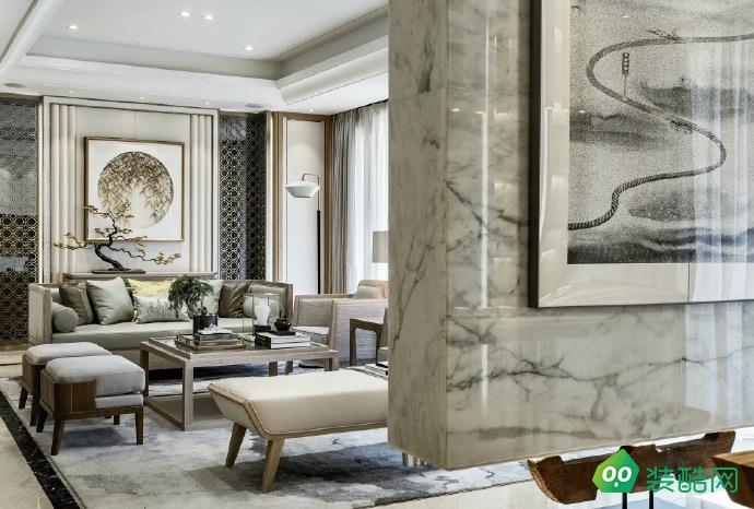 湘潭166平米中式風格四室兩廳裝修效果圖-美迪裝飾