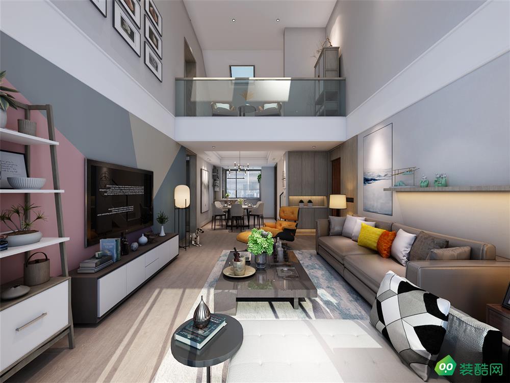 【山水裝飾】柏景灣、現代、245平米、四室兩廳