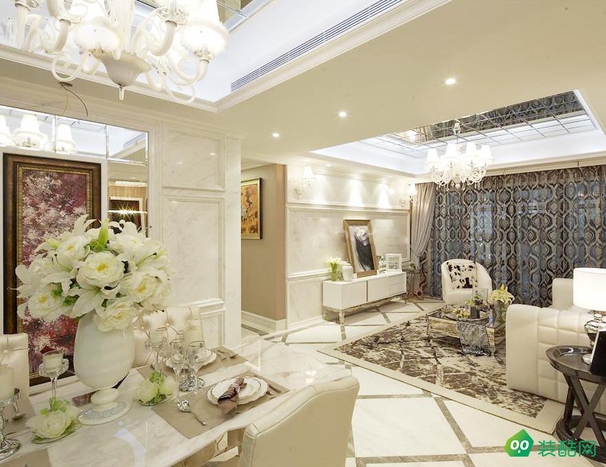 佛山160平米現代風格四室兩廳裝修效果圖-富軒怡家裝飾