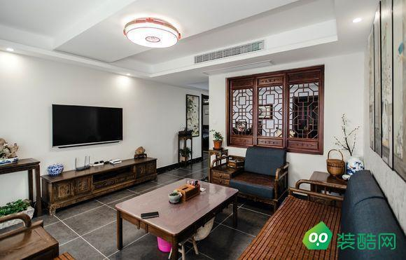 佛山148平米中式風格四室兩廳裝修效果圖-富軒怡家裝飾