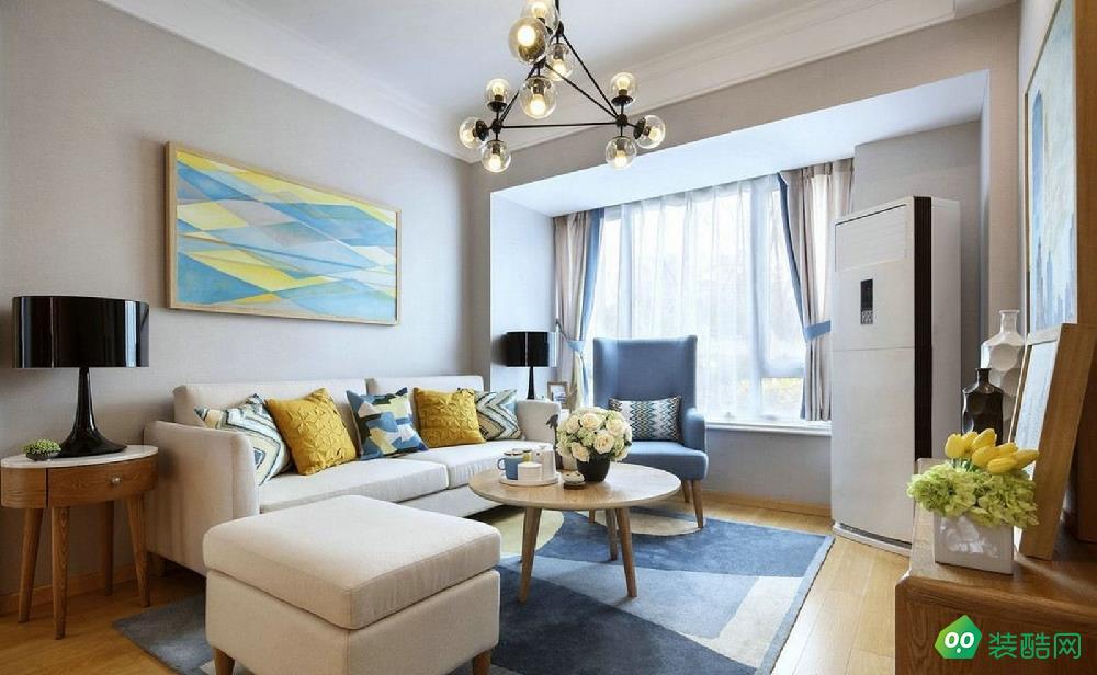 成都75平米北歐風格兩居室裝修案例圖片-翻先生裝飾