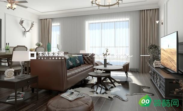 金阳湾美式三居室158平