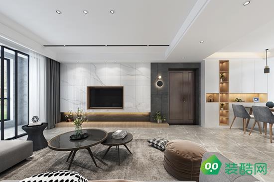 寶雞93平米北歐風格三室一廳裝修效果圖-非凡客裝飾