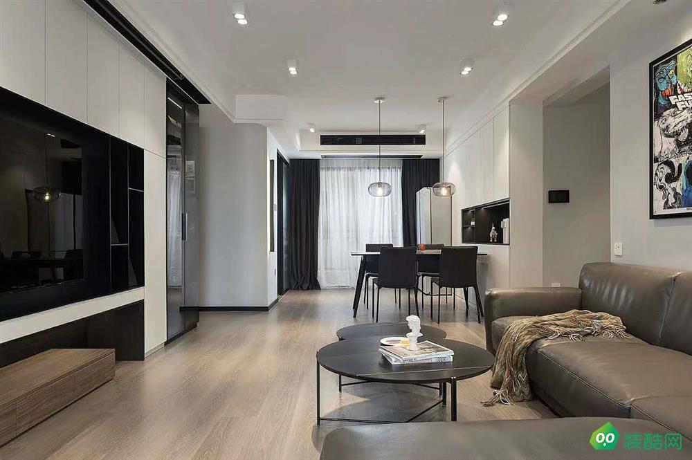 湘潭145平米現代風格四室兩廳裝修效果圖-天中天裝飾