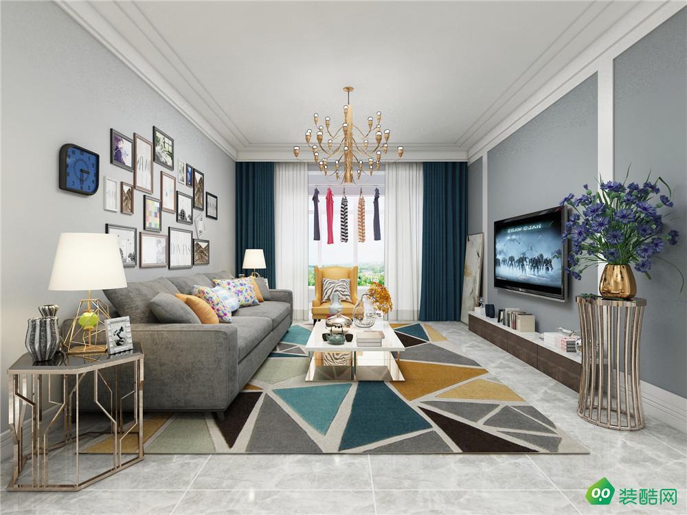 重慶120平米現代風格三室兩廳裝修案例圖片-歐也裝飾