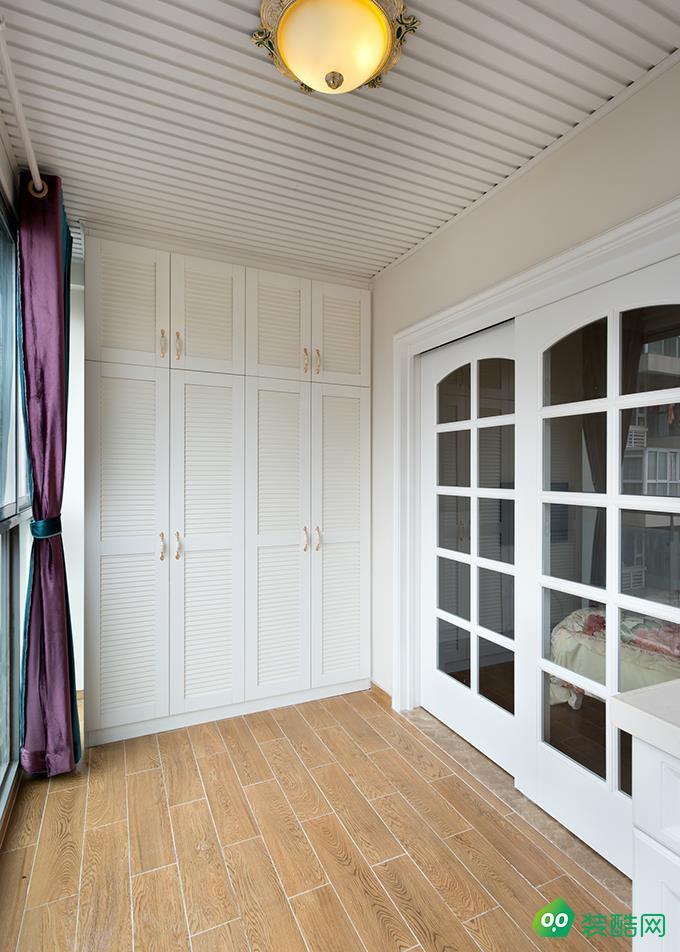 江津118平米歐式風格三室兩廳兩衛裝修效果圖