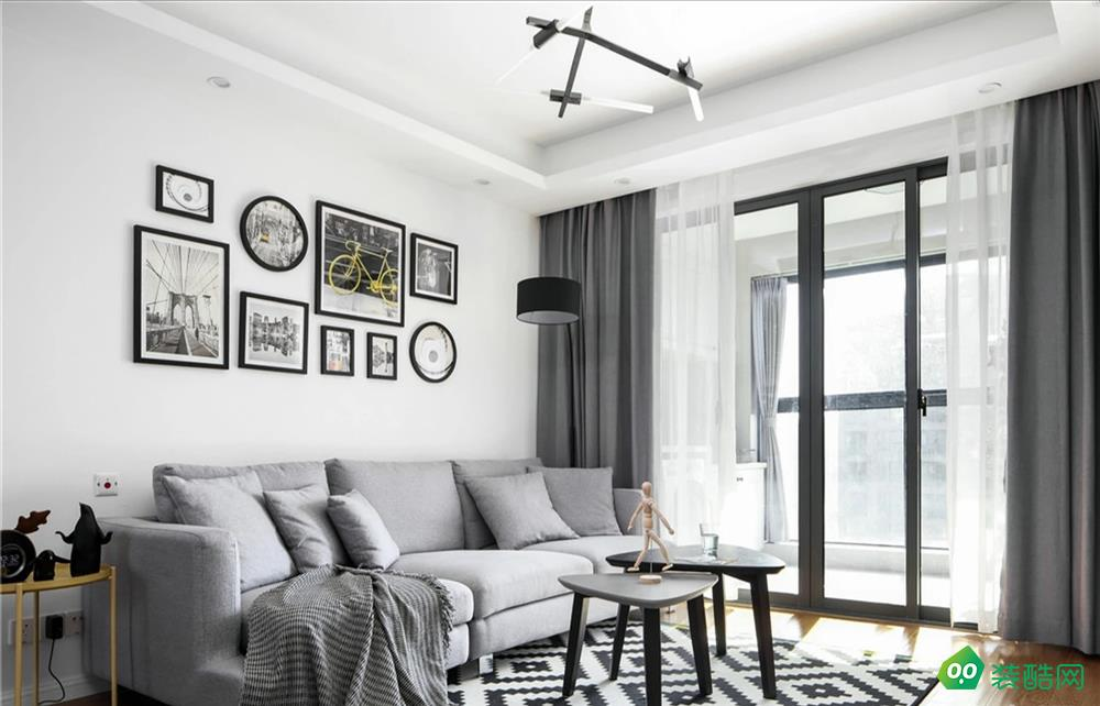 大連100平米北歐風格三室兩廳裝修案例圖片-博海裝飾