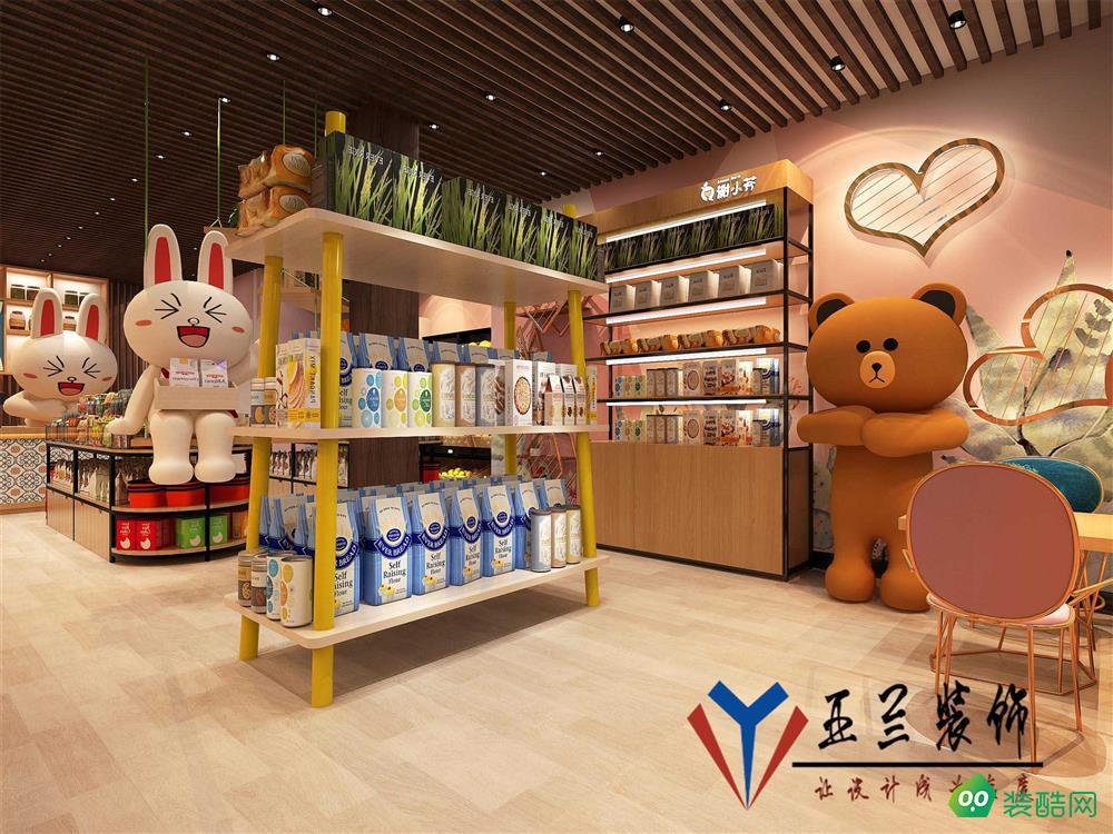 合肥零食店装修,零食店设计,食品店装修设计。