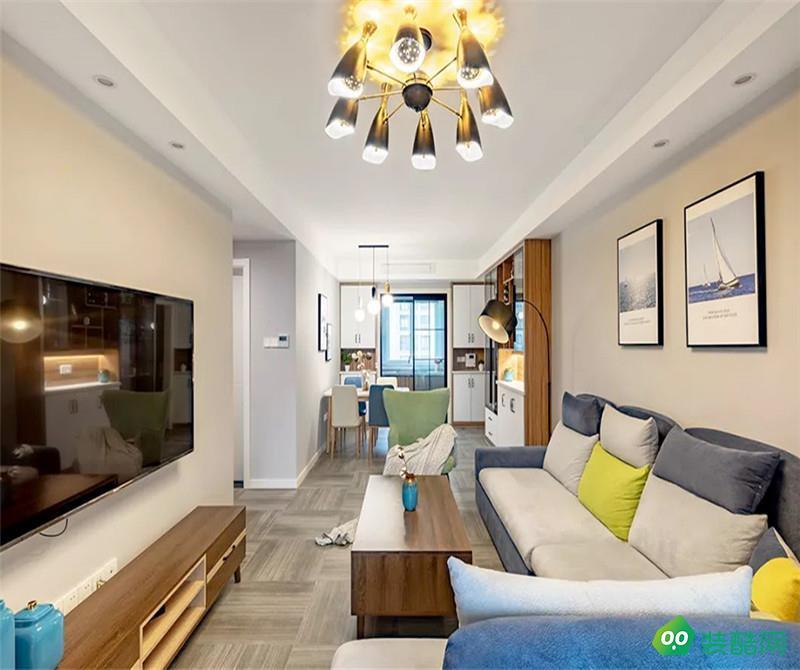 拉薩北歐風格三居室125平裝修案例