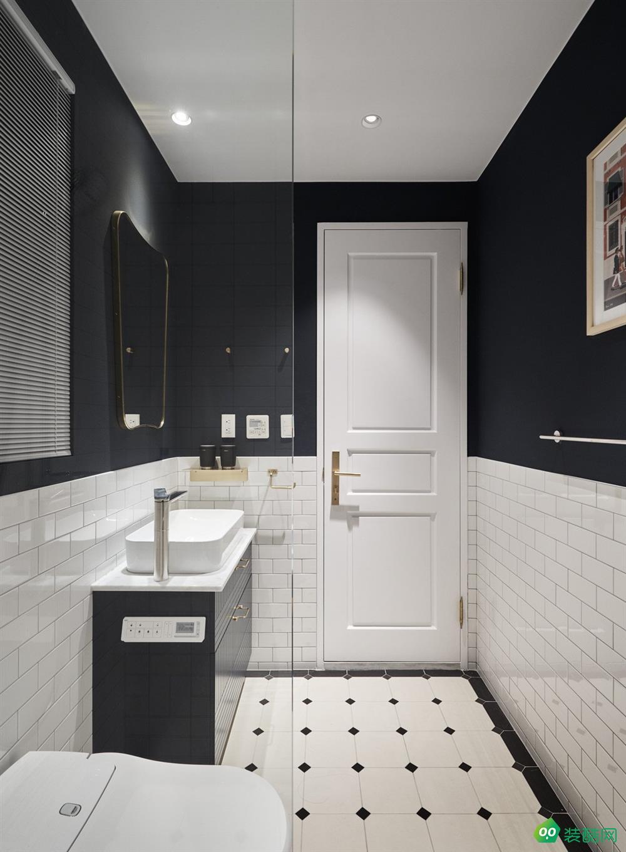 大理富海小區-92平兩居室北歐風格裝修