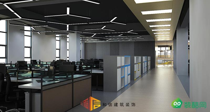 成都辦公室裝修設計公司-科大訊飛辦公室