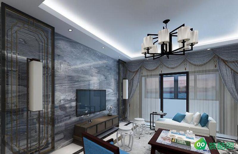 上海142平米古典中式風格四居室裝修案例圖片