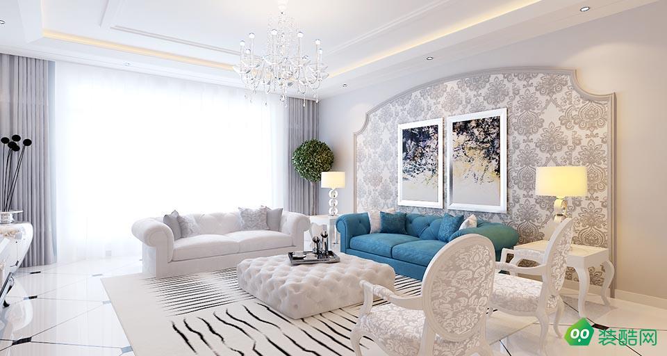 湘潭160平米歐式風格四室兩廳裝修效果圖-裕興裝飾