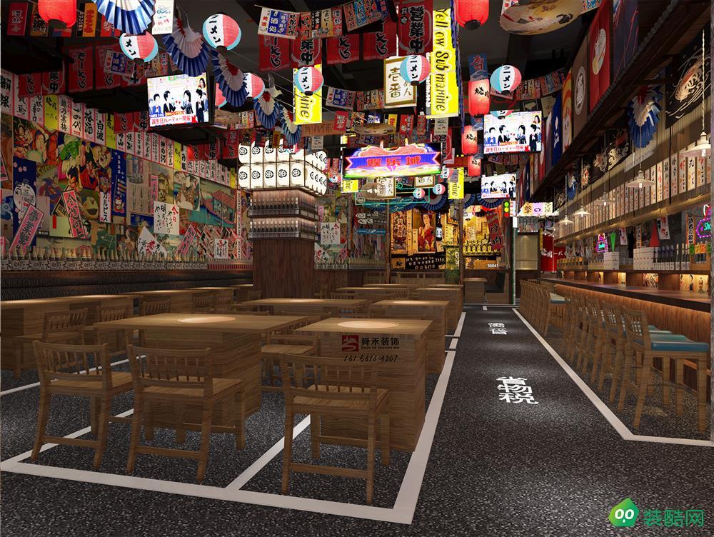 濟南日式餐飲料理店裝修設計