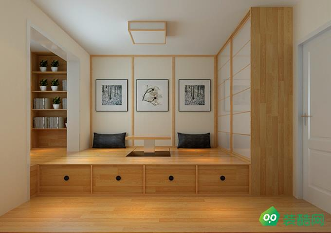 綿陽109平米日式風格三室裝修效果圖